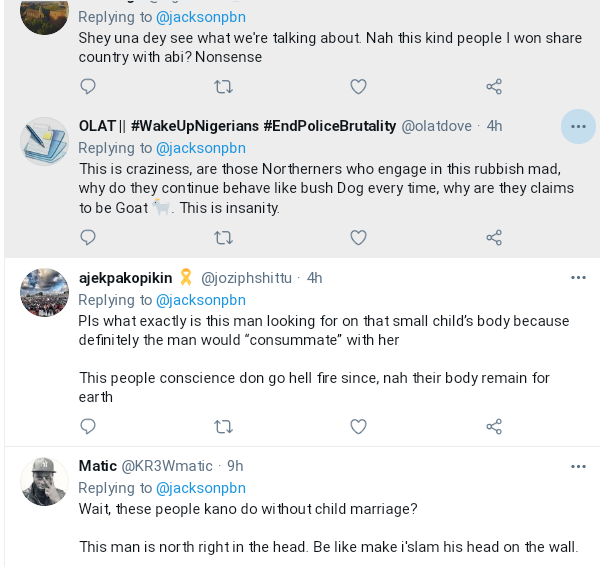 Nigerians Reacts As Elderly Grandfather Weds Young Girl In Northern Nigeria 5