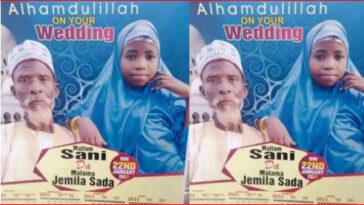 Nigerians Reacts As Elderly Grandfather Weds Young Girl In Northern Nigeria 16