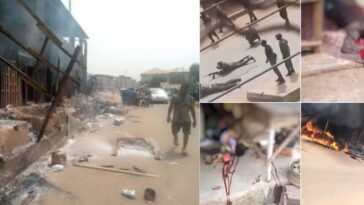 Many Feared Dead, Houses Burnt As Soldiers Clashes With IPOB In Orlu, Imo State [Video] 9