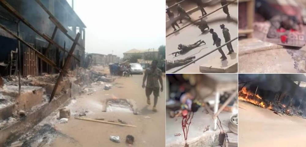Many Feared Dead, Houses Burnt As Soldiers Clashes With IPOB In Orlu, Imo State [Video] 1