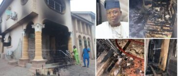 Sunday Igboho's House Set Ablaze After His Ultimatum To Fulani People In Oyo [Video] 25