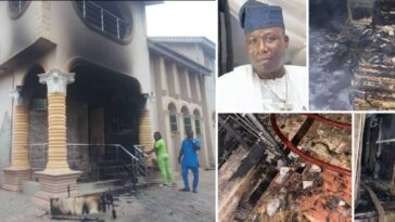 Sunday Igboho's House Set Ablaze After His Ultimatum To Fulani People In Oyo [Video] 3