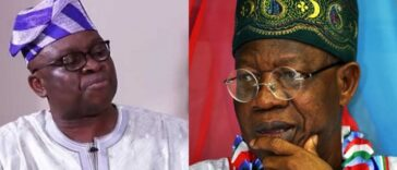 Fayose Says Lai Mohammed Loves To Vomit Evil Through His 'Septic-Tank-Like-Mouth' 32