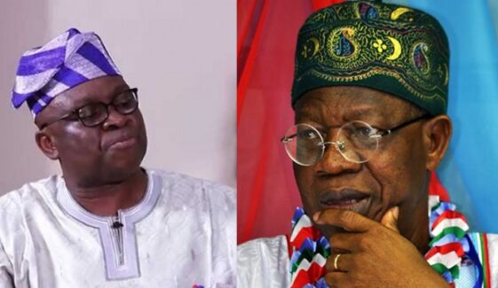 Fayose Says Lai Mohammed Loves To Vomit Evil Through His 'Septic-Tank-Like-Mouth' 10