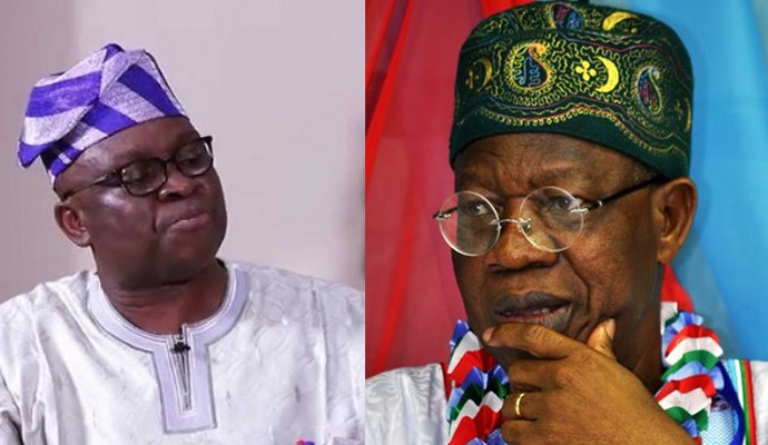 Fayose Says Lai Mohammed Loves To Vomit Evil Through His 'Septic-Tank-Like-Mouth' 1