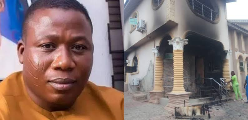 Sunday Igboho Says Those Who Burnt His Ibadan House Will Run Mad In 48 Hours 1