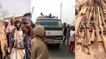 25 Guns Recovered As Amotekun Arrests Truckload Of Fulani Men Going To Oyo [Photos] 6