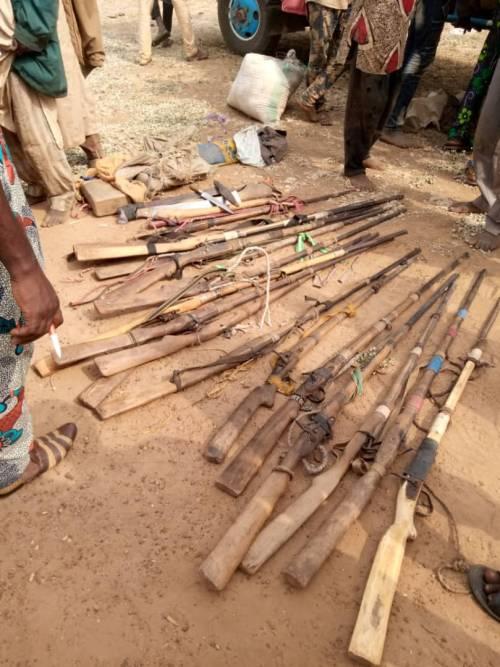 25 Guns Recovered As Amotekun Arrests Truckload Of Fulani Men Going To Oyo [Photos] 4