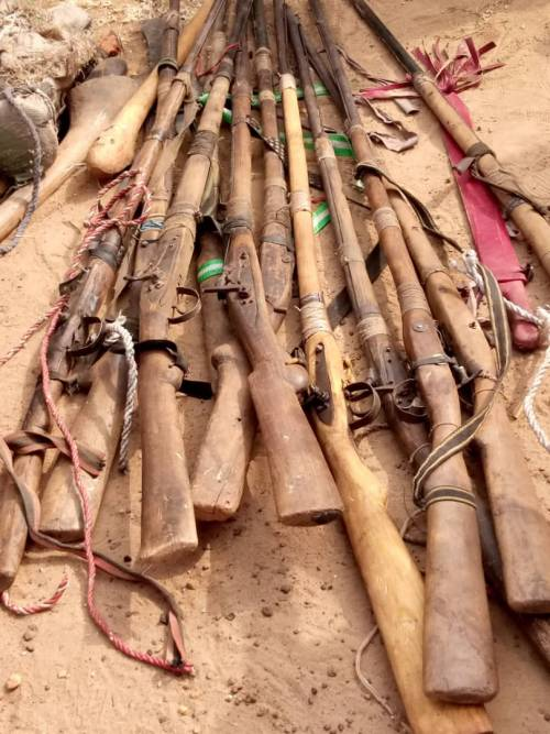 25 Guns Recovered As Amotekun Arrests Truckload Of Fulani Men Going To Oyo [Photos] 5