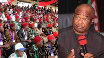 #OrluMassacre: We'll Hold Uzodinma Responsible For Any Life Lost In Imo - Ohanaeze 9