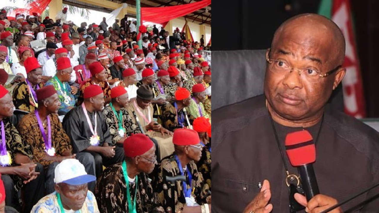 #OrluMassacre: We'll Hold Uzodinma Responsible For Any Life Lost In Imo - Ohanaeze 1