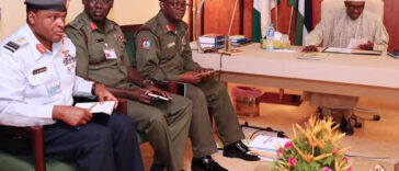 INSECURITY: President Buhari Finally Sacks Service Chiefs, Appoints New Officers 24