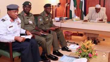 INSECURITY: President Buhari Finally Sacks Service Chiefs, Appoints New Officers 7
