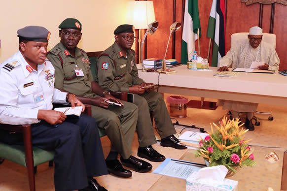 INSECURITY: President Buhari Finally Sacks Service Chiefs, Appoints New Officers 1