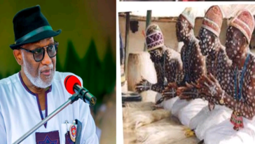 """Let's Flush Out Criminals With Our Spiritual Powers"" - Traditionalists Tells Governor Akeredolu 3"