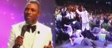 """If You Fall Under Anointing And Break Anything, You Will Pay"" - Pastor Warns Members [Video] 24"