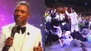 """If You Fall Under Anointing And Break Anything, You Will Pay"" - Pastor Warns Members [Video] 6"