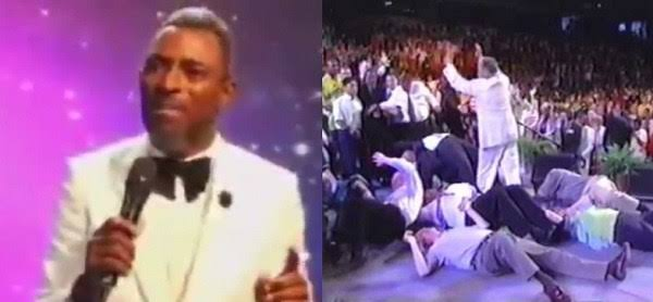 """""""If You Fall Under Anointing And Break Anything, You Will Pay"""" - Pastor Warns Members [Video] 1"""