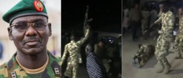 Watch Nigerian Soldiers Jubilating Over Removal Of Buratai As Chief Of Army Staff [Video] 24