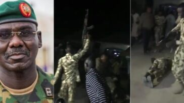 Watch Nigerian Soldiers Jubilating Over Removal Of Buratai As Chief Of Army Staff [Video] 3