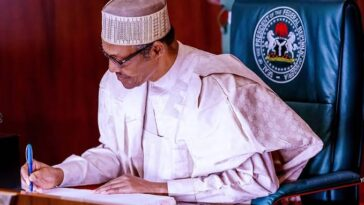 Buhari Signs Law Prescribing Six Months Jail Term For Violators Of COVID19 Protocols 5