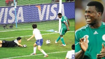 Yakubu Aiyegbeni Says He Won't Apologise For 'Open Goal' He Missed During 2010 World Cup 7