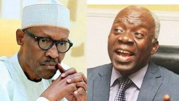 Buhari Has Not Appointed Service Chiefs, He Only Nominated Them – Femi Falana 6
