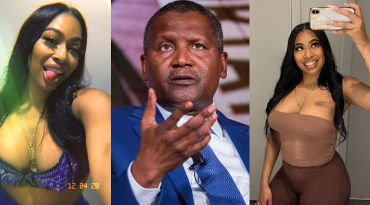 Dangote Accuses His Ex-Girlfriend, Autumn Spikes Of Trying To Extort $5 Million From Him 1