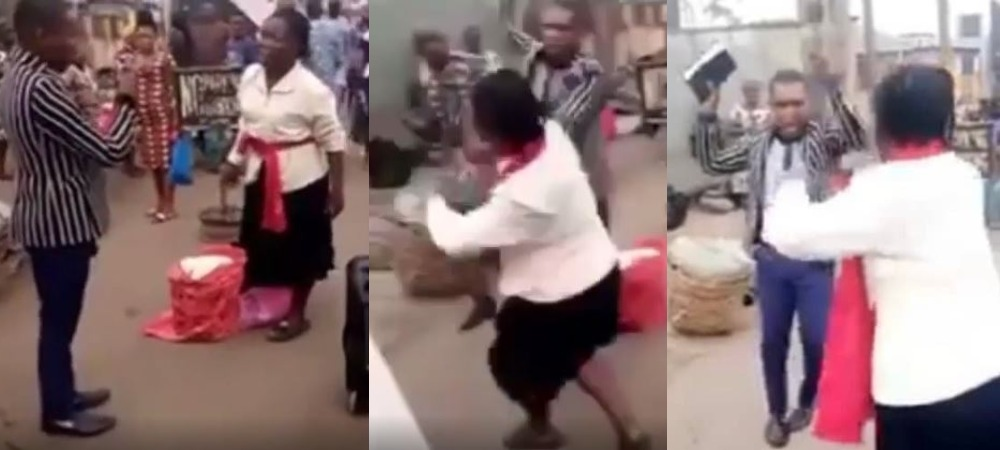 Drama As Two Nigerian Preachers Fight Publicly Over Preaching Spot In Lagos [Video] 1