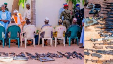 Zamfara Government Forgives 'Repentant Bandits' Who Surrendered Their Weapons [Video] 2