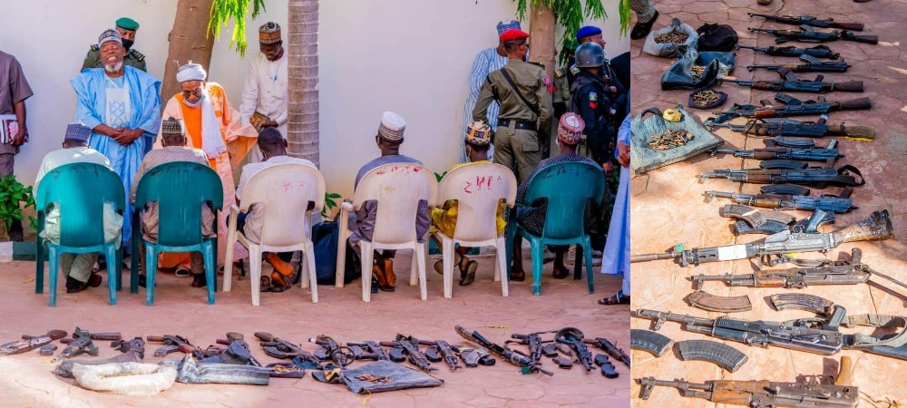 Zamfara Government Forgives 'Repentant Bandits' Who Surrendered Their Weapons [Video] 1