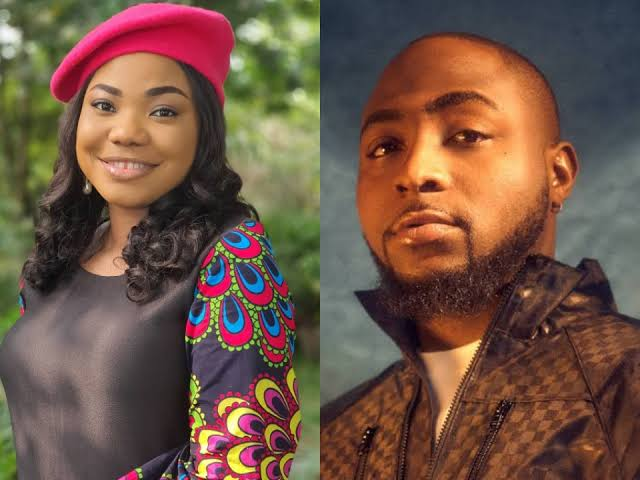 Gospel Singer, Mercy Chinwo Reacts After Davido Said 'She's Amazing, Lifts Up His Soul' 1