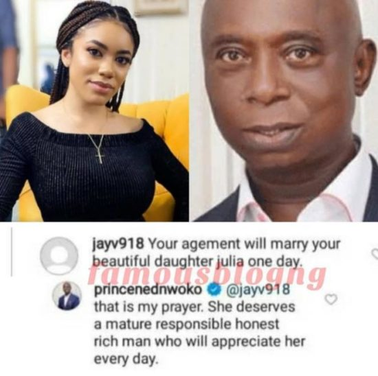 Billionaire Ned Nwoko Says He Prays For His Daughter To Marry An Old Rich Man Like Him 2