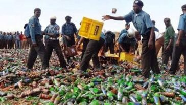 Hisbah Police Seizes 260 Crates Of Alcoholic Drinks From Hotels And Night Clubs In Bauchi 5