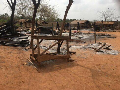 One Dead As Sunday Igboho Allegedly Burns Fulani Settlement In Ogun [Photos] 3