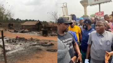 One Dead As Sunday Igboho Allegedly Burns Fulani Settlement In Ogun [Photos] 5
