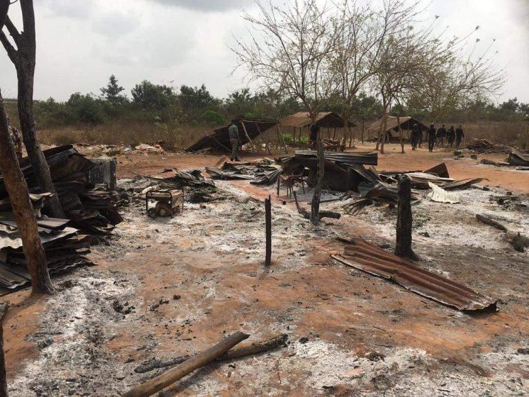 One Dead As Sunday Igboho Allegedly Burns Fulani Settlement In Ogun [Photos] 4