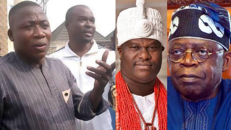 """""""Tinubu And Makinde Are Fulani Slaves, Ooni Collected Dollars From Buhari"""" - Sunday Igboho 1"""