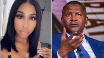 Dangote's Ex-Girlfriend, Autumn Spikes Evicted From Her Apartment For Owing Six Months Rent 1