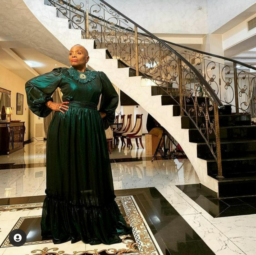 Encomiums Pour In For Nigerian Actress Taiwo Ajayi Lycett As She Turns 80 1