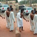 Three Young Men Caught Red Handed Trying To Use A Lady For Money Rituals In Edo 28