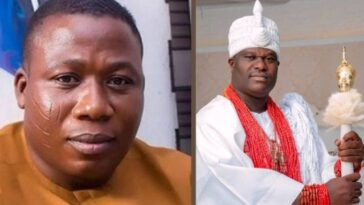 Sunday Igboho Begs Ooni Of Ife For Forgiveness After Insulting Him Over Fulani Herdsmen 1