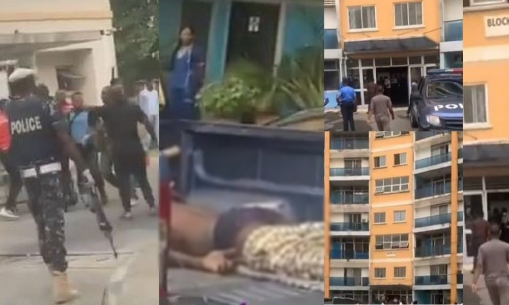 Man Jumps To His Death As EFCC Storms His Lagos Apartment To Effect Some Arrests [Video] 1