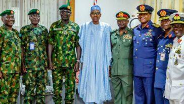 President Buhari Nominates Buratai, Other Former Service Chiefs As Ambassadors 4