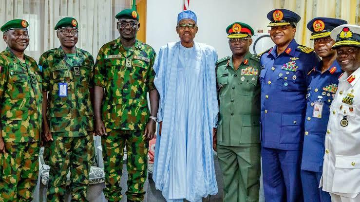 President Buhari Nominates Buratai, Other Former Service Chiefs As Ambassadors 1