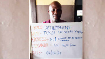 40-Year-Old Man Arrested For Drugging And Defiling His Two Minor Stepdaughters In Lagos 3