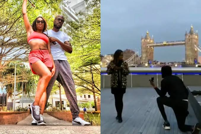 Watch The Moment Nigerian Rapper, Ikechukwu Proposed To His Girlfriend In London [Video] 1