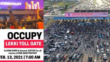 #OccupyLekkiTollGate: Nigerians To Protest On Saturday Over Reopening Of Lekki Tollgate 3