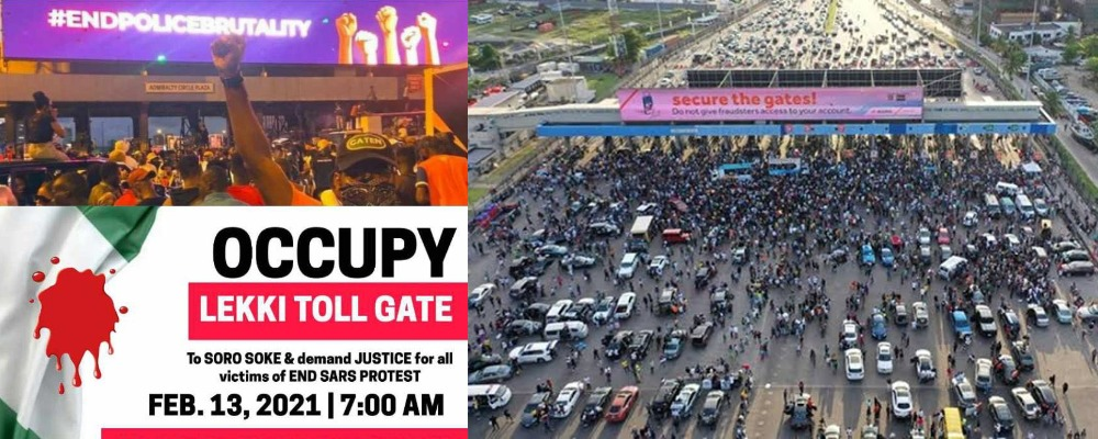 #OccupyLekkiTollGate: Nigerians To Protest On Saturday Over Reopening Of Lekki Tollgate 1