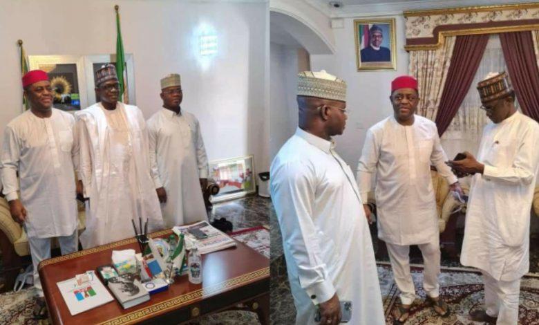 Fani-Kayode Moves To Dump PDP For APC, Meets Governor Buni And Yahaya Bello 1